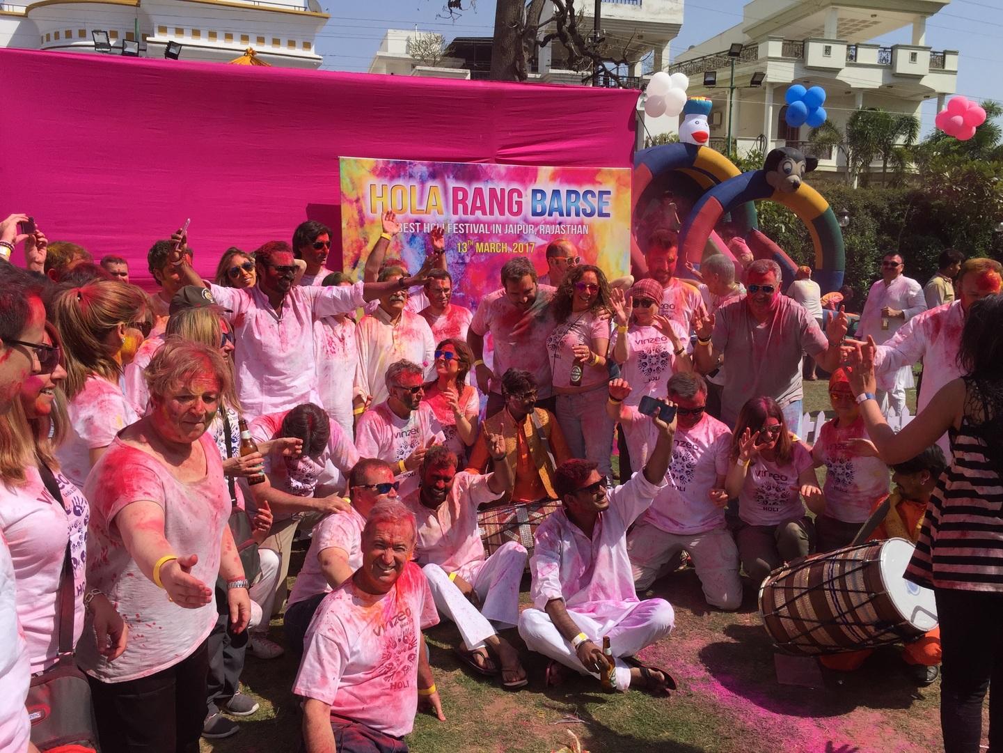 India: Festival Holi en los senderos del tigre